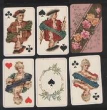 Antique playing cards Dondorf  160 whist.